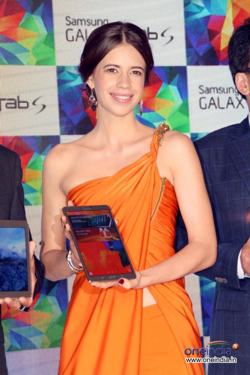 Kalki Koechlin Launched Samsung Galaxy Tab S Photos