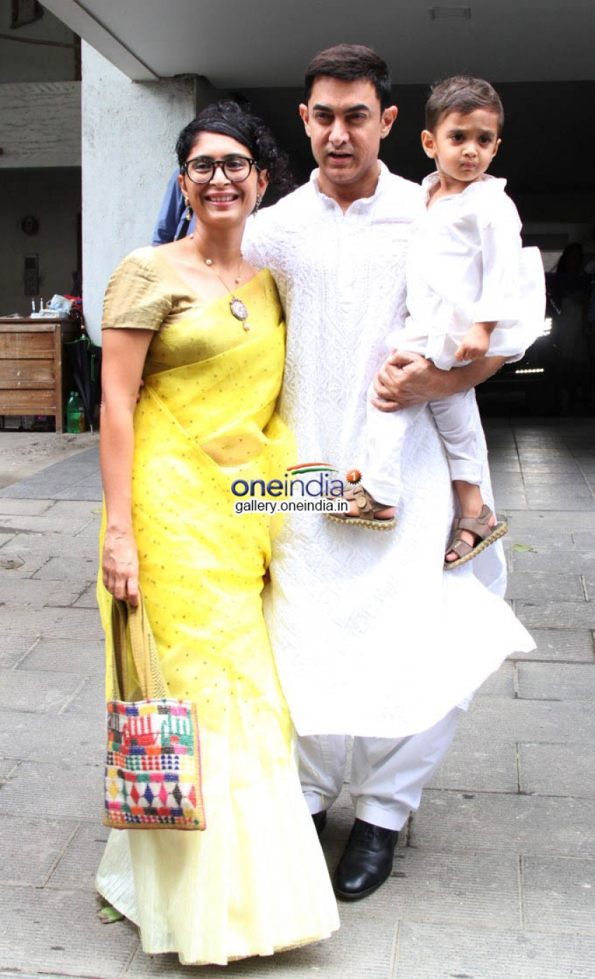 Aamir Khan Celebrates Eid with his Family Photos