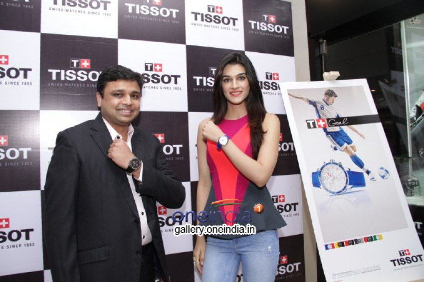Kriti Sanon Launches Tissot Swiss Watch Photos