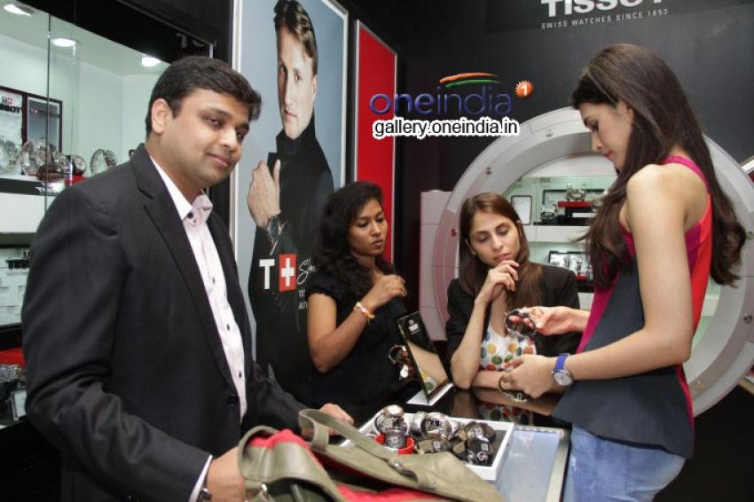 Kriti Sanon Launches Tissot Swiss Watch Photos