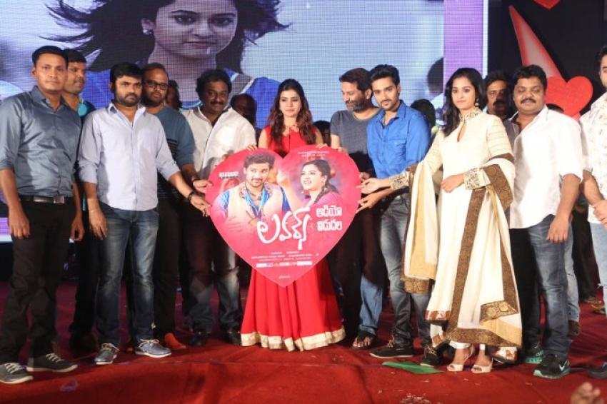 Lovers Movie Audio Launch Photos