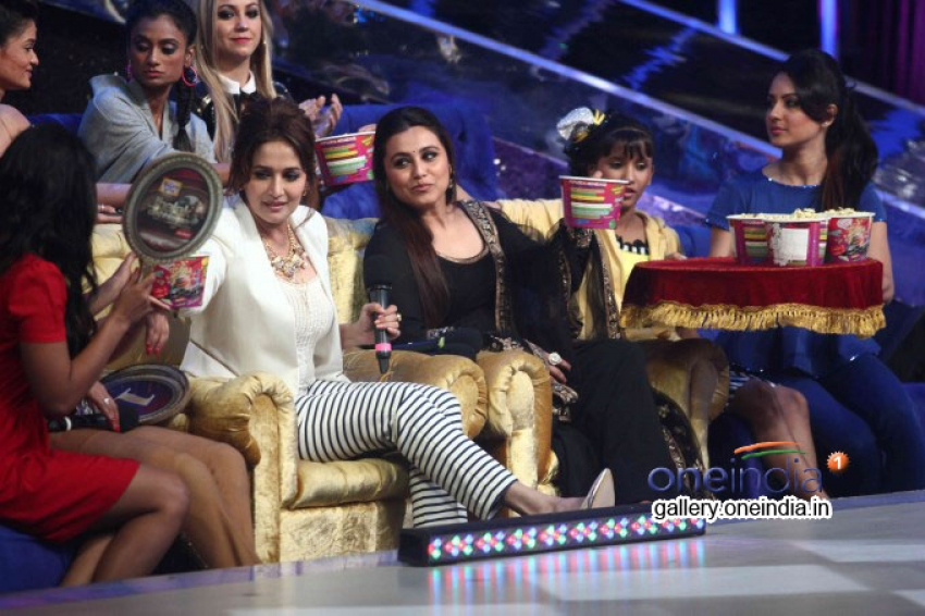 Promotion of Film Mardaani on the sets of Jhalak Dikhhla Jaa 7 Photos