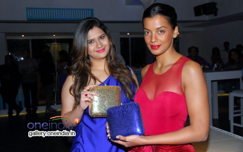 Mugdha Godse unveils Manali Jagtap's new bridal handbag collection 'Clutch Closet' Photos