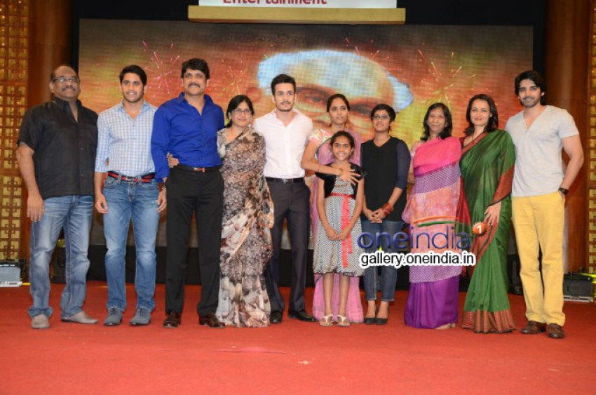Manam 50 Days Vijayotsavam Photos