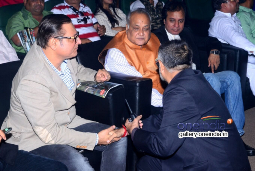 T P Aggarwal attended 2nd Glamour Awards 2014 Photos