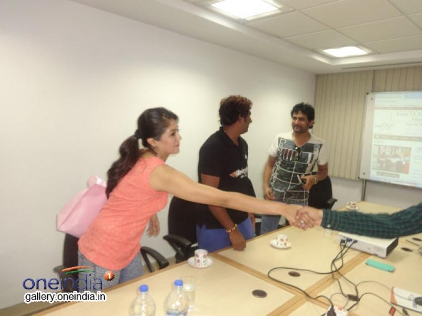 Kannada Movie Bahuparak Team at Oneindia Photos