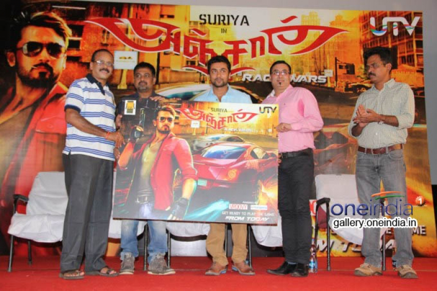 Anjaan Race Wars Game Launch Photos