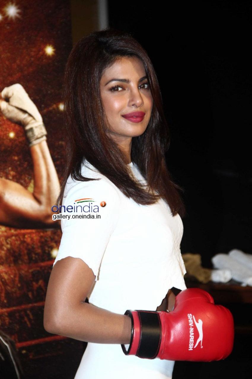 Priyanka Chopra Launches Mary Kom Trailer Photos