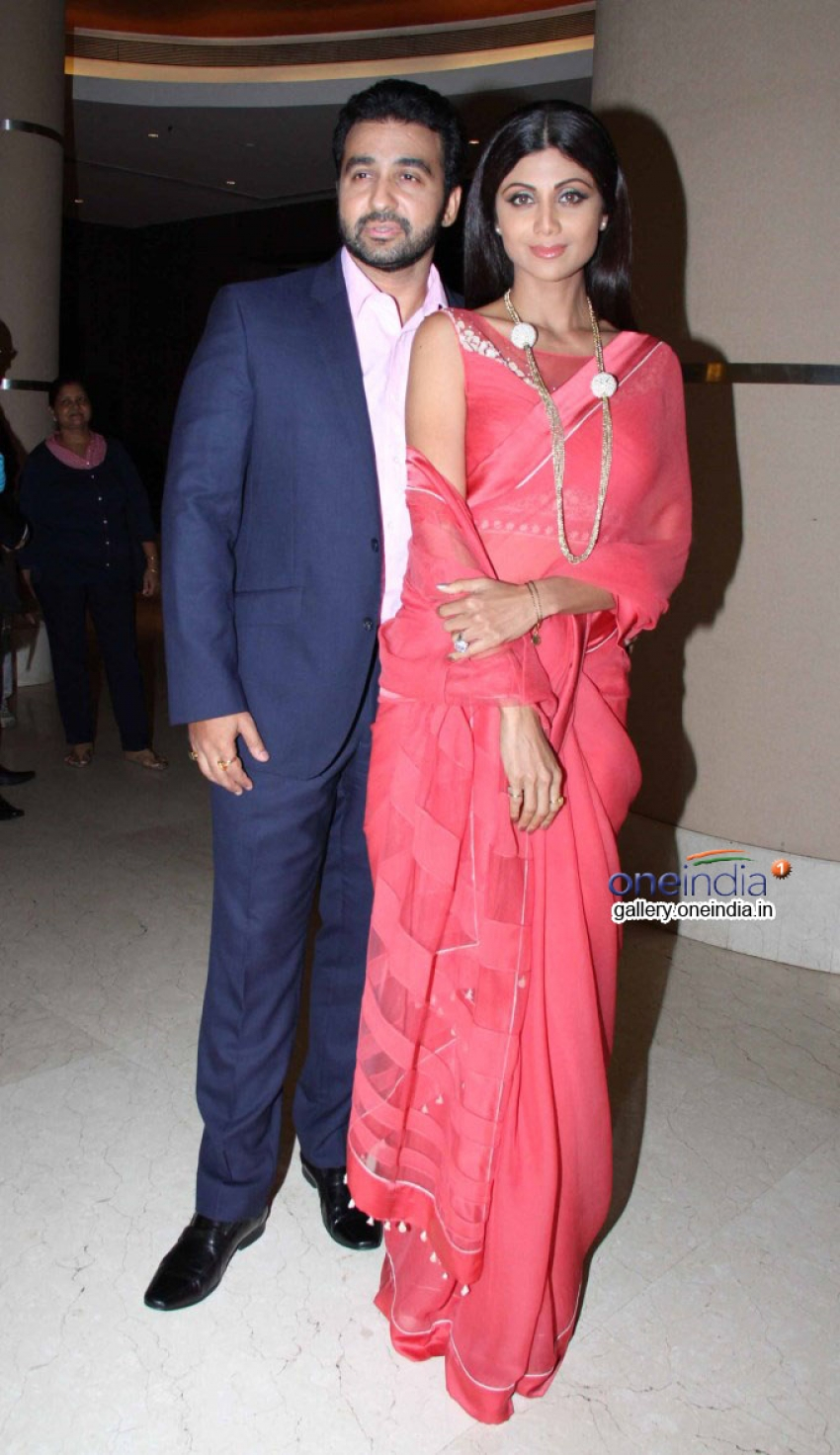 Shilpa Shetty Kundra and Raj Kundra at Goa Wedding Festival Press Meet Photos