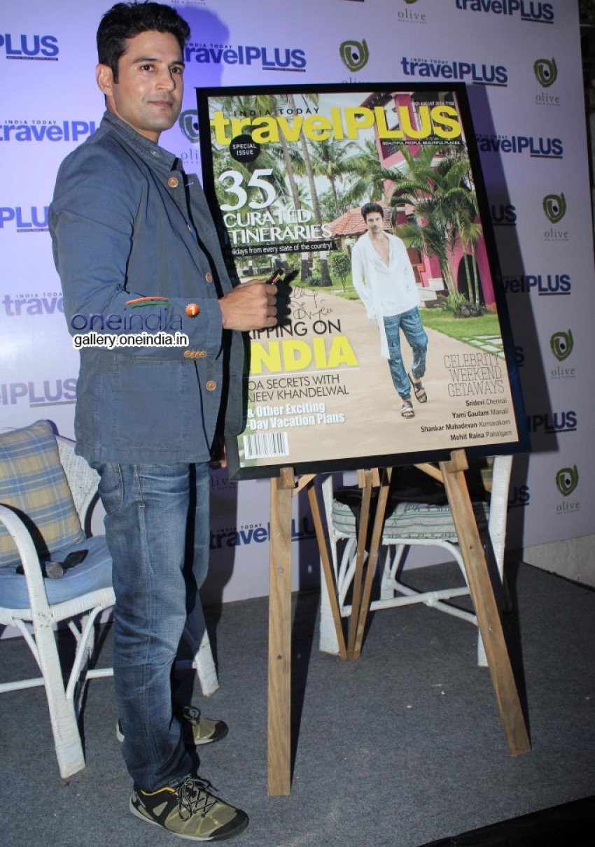 Rajeev Khandelwal unveils India Today Travel Plus Special Issue Photos