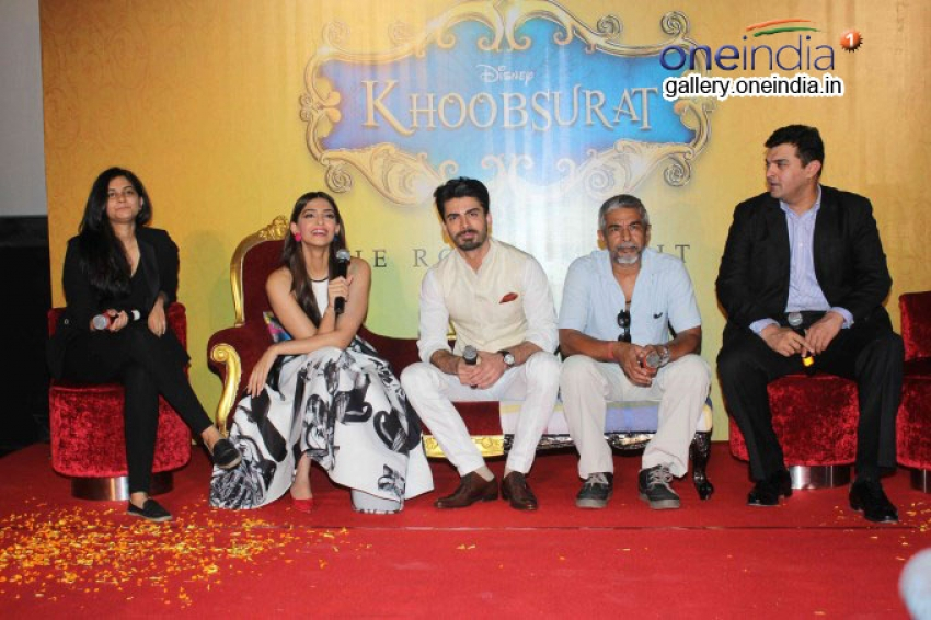 Khoobsurat Trailer Launch Photos