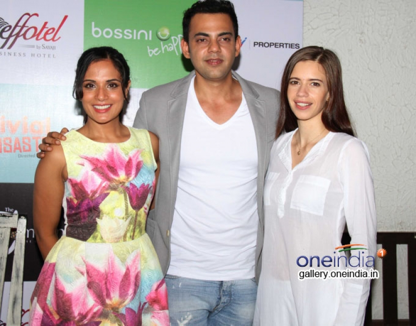 Trivial Disasters Play Launch Photos