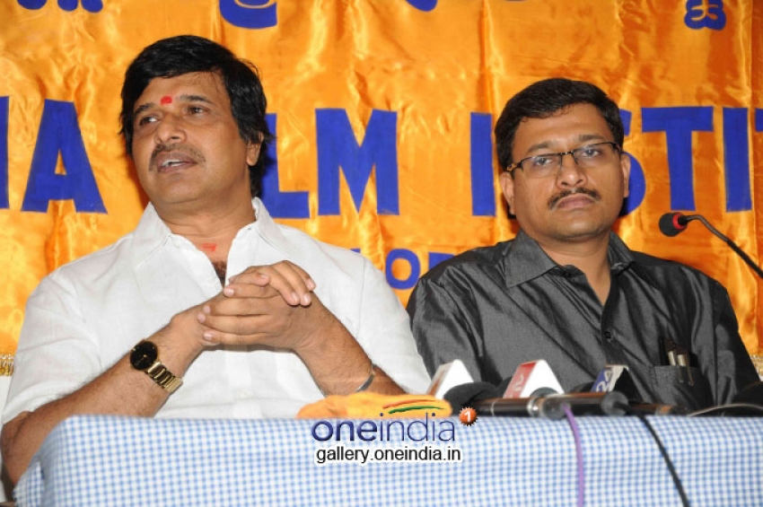 S. Narayan at Adarsha Film Institute Photos