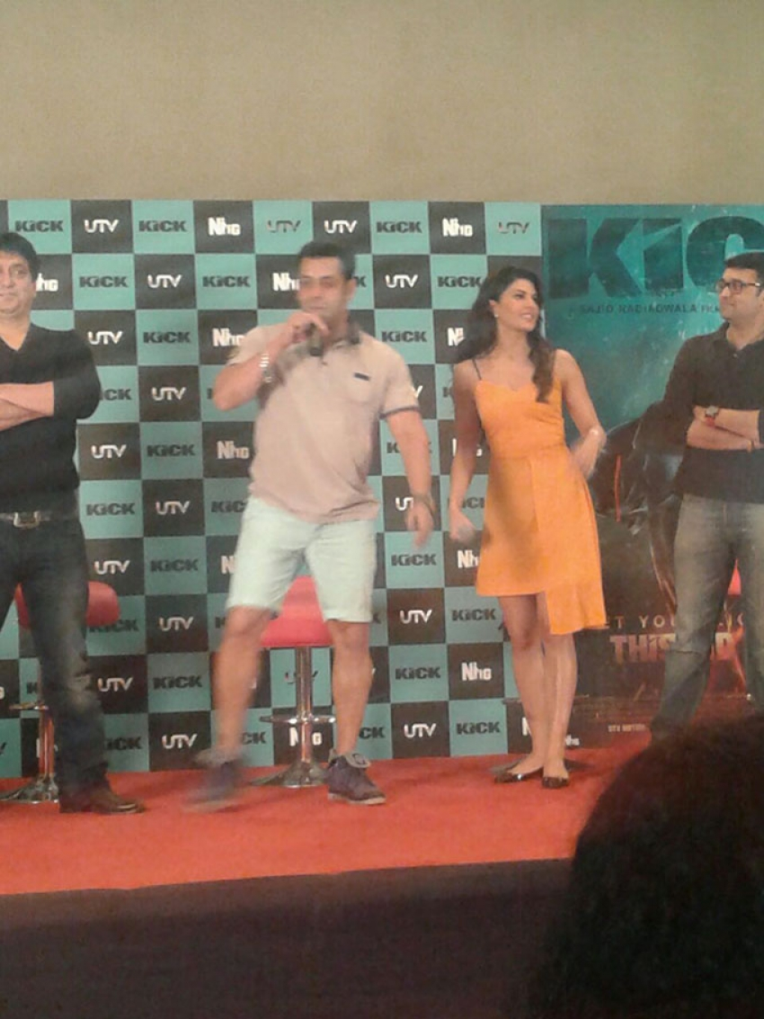Salman Khan Promotes Kick at Mehboob Studio Photos