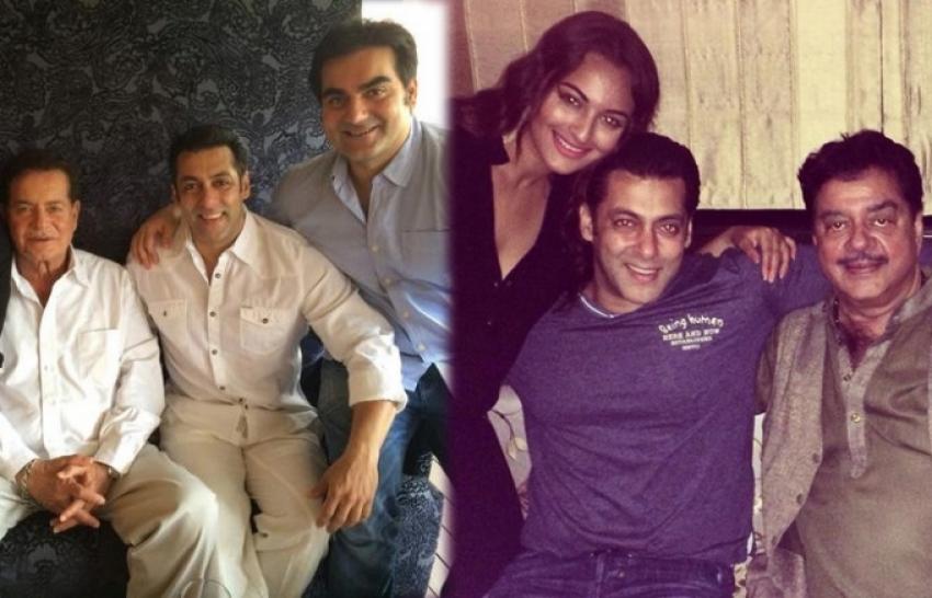 Salman Khan Celebrates Eid with Family Photos