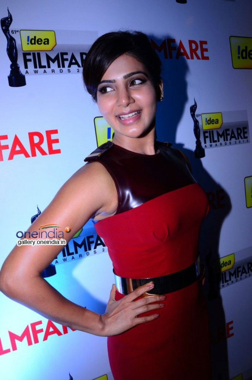 Samantha at the 61st Idea Filmfare Awards Photos