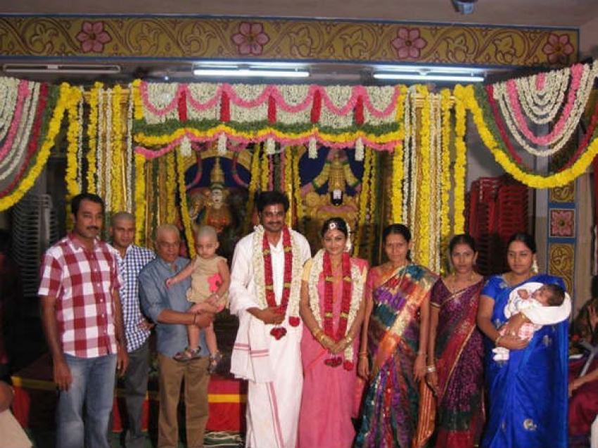 Senthil-Srija (Saravanan and Meenakshi) Marriage Photos