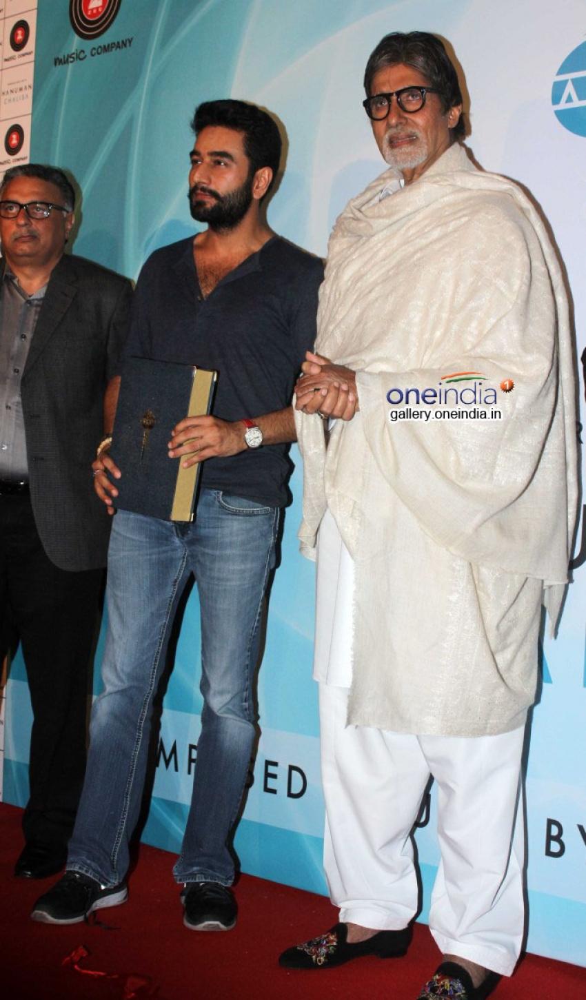 Amitabh Bachchan Launches Shekhar Ravjiani's Hanuman Chalisa Photos
