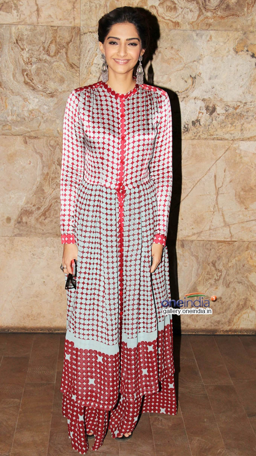 Sonam Kapoor at Special Screening of Kick at Lightbox Photos