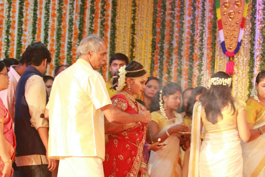 Sritha Sivadas and Deepak Nambiar Marriage Photos