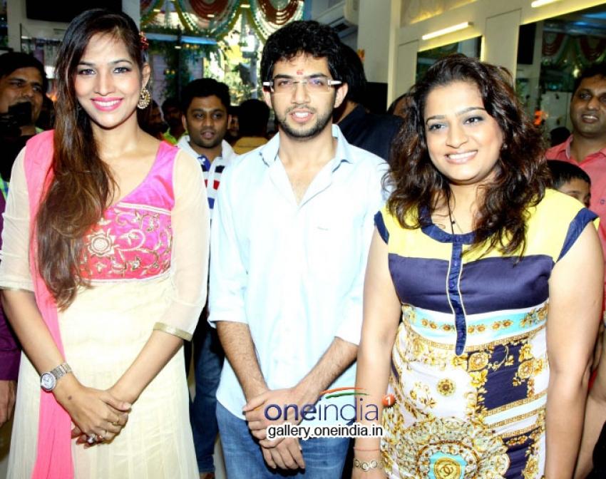 Aditya Thackeray and Madhur Bhandarkar inaugurates Shiva Hair Design Pvt Ltd Photos