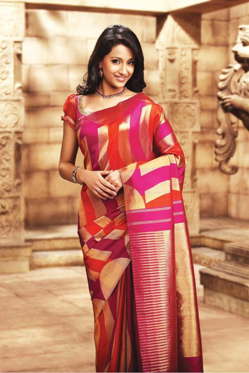 Trisha in Bridal Wear Photos