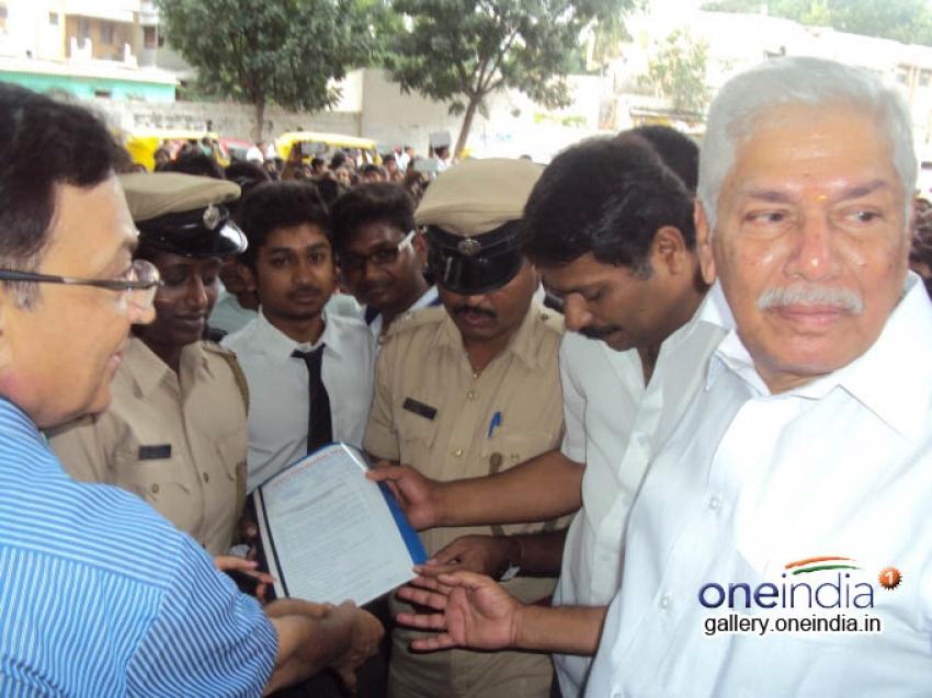 Vasavi students protest against rape in Bangalore Photos