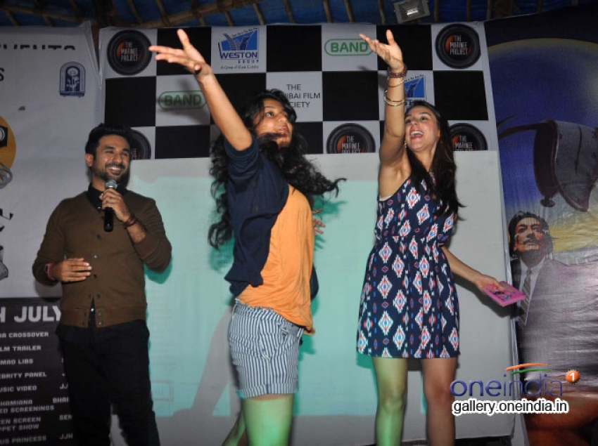 Amit Sahni Ki List Movie Promotion at Mithibai College Photos
