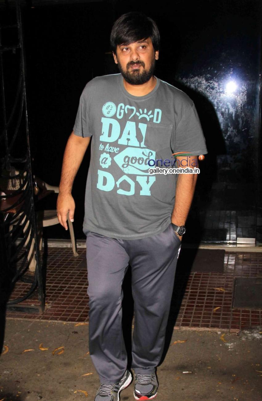Salman Khan Spotted at Himesh Reshammiya's office Photos