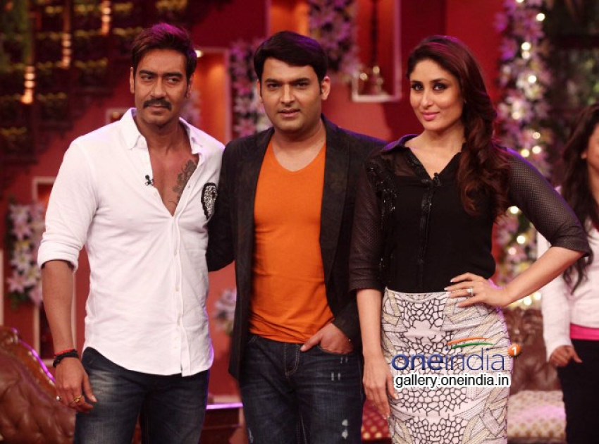 Singham Returns Promotion on the sets of Comedy Nights with Kapil Photos