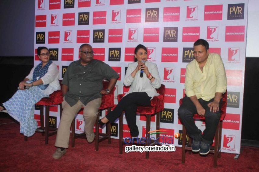 Rani Mukerji Launches the Mardaani Song Photos