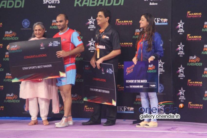 Pro Kabaddi League Match Dabang Delhi vs Jaipur Pink Panthers Photos