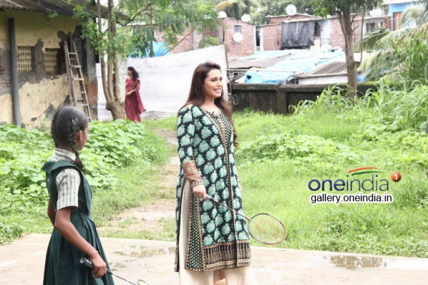 Rani Mukerji Campaigns for ndtv's Support My School Photos