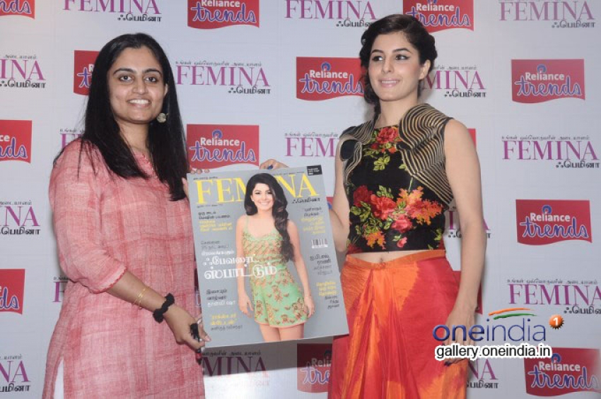 Isha Talwar Unveils the Femina Tamil August Cover Photos