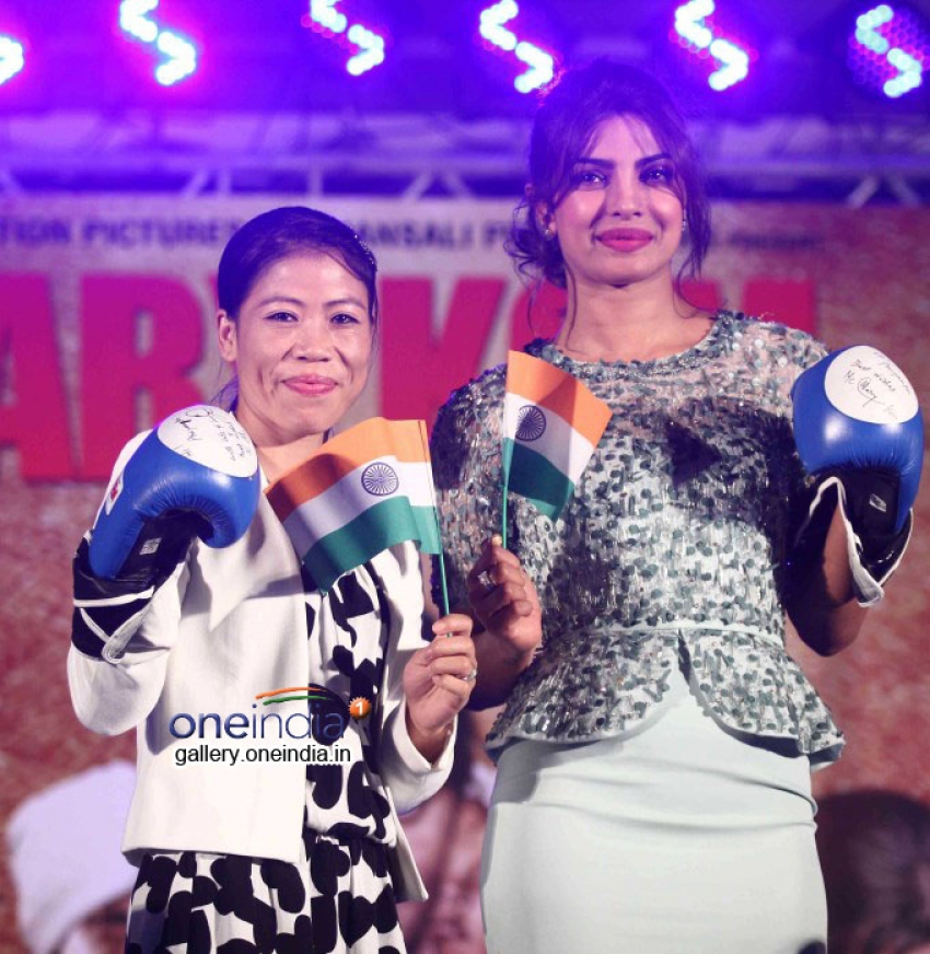 Mary Kom Audio Launch Photos