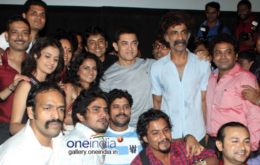 Aamir Khan at Special Screening of Saturday Sunday Photos