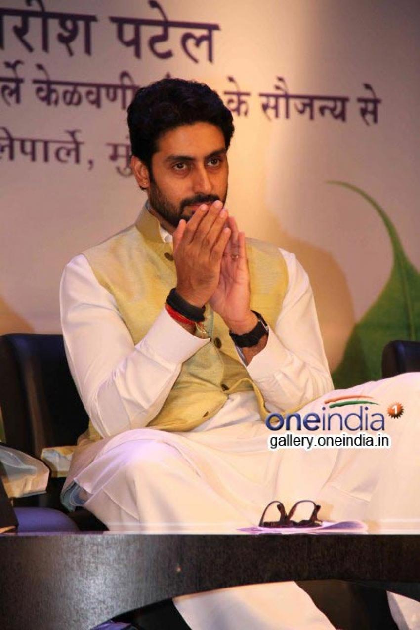 Abhishek Bachchan at Yuvak Biradari 40th anniversary Photos