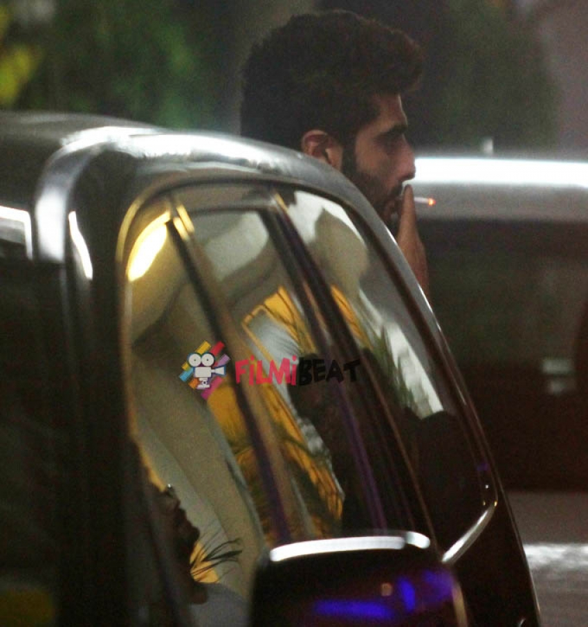 Arjun Kapoor snapped at sunny super sound Photos