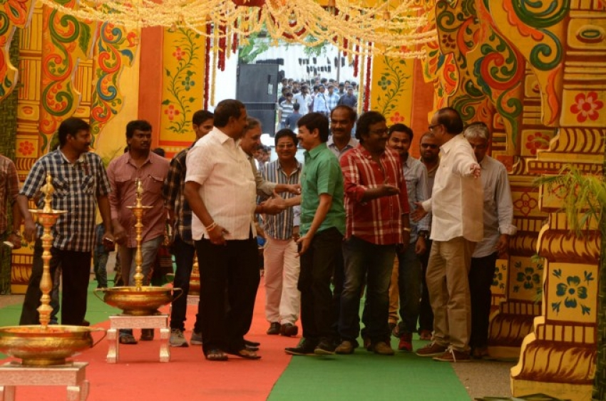 Bellamkonda Sreenivas New Movie Launch Photos
