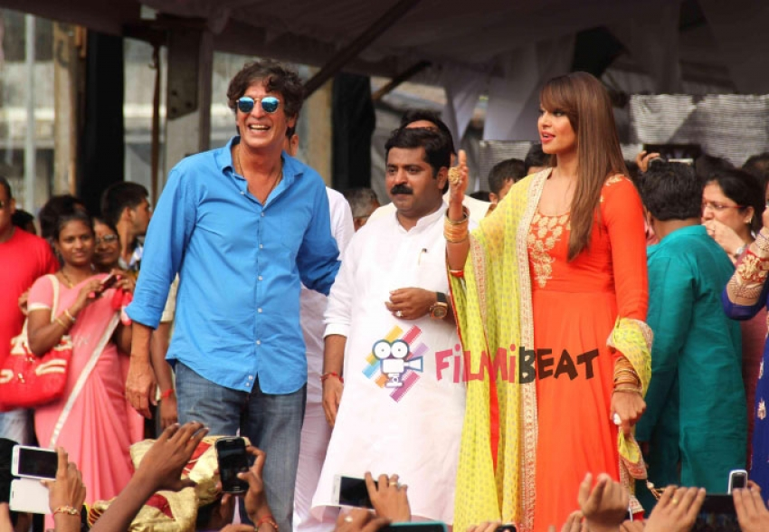 Bipasha, Kainaat, Anil Kapoor at Ram Kadam's Dahi Handi celebration Photos