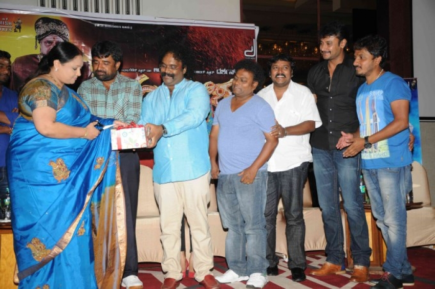 Darshan's Ambareesha film audio release Photos