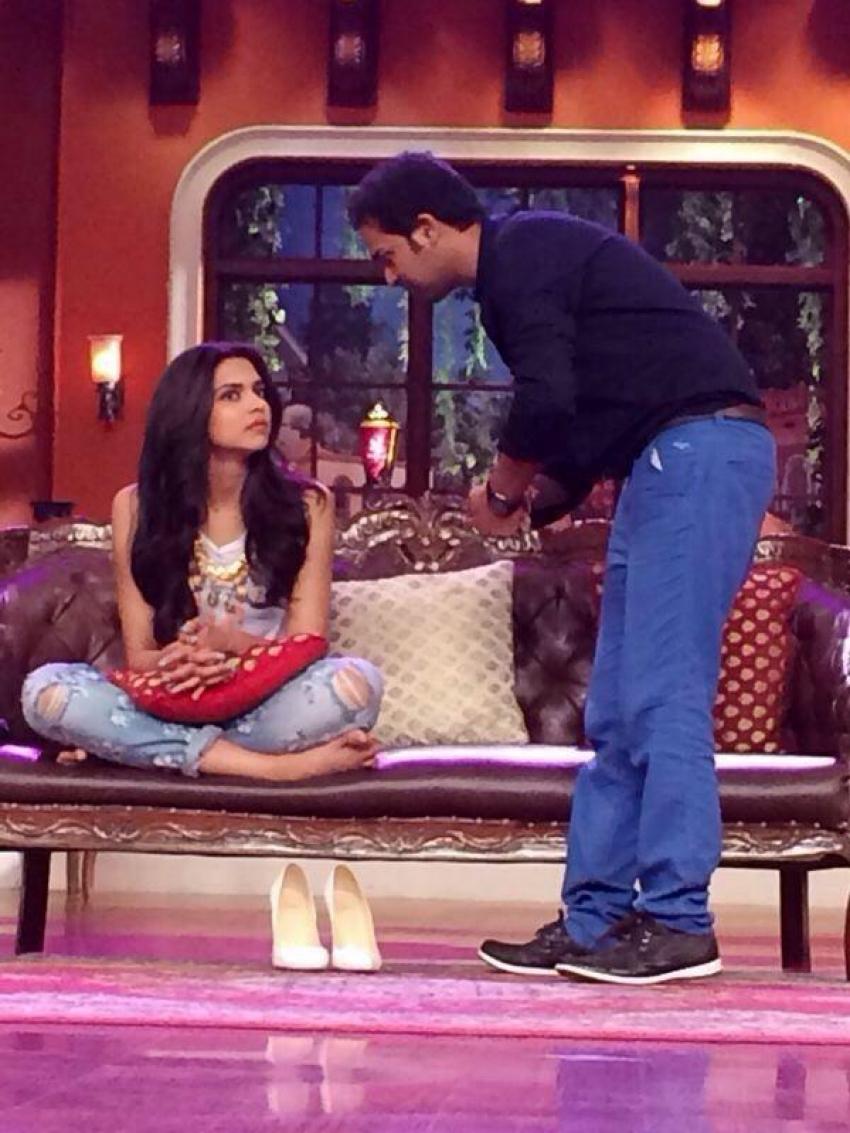 Deepika, Arjun at Comedy Nights With Kapil Photos