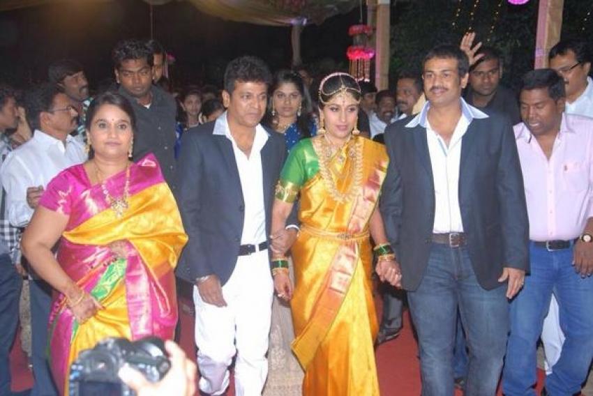 Dr Shivarajkumar Daughter Nirupama Engagement Photos