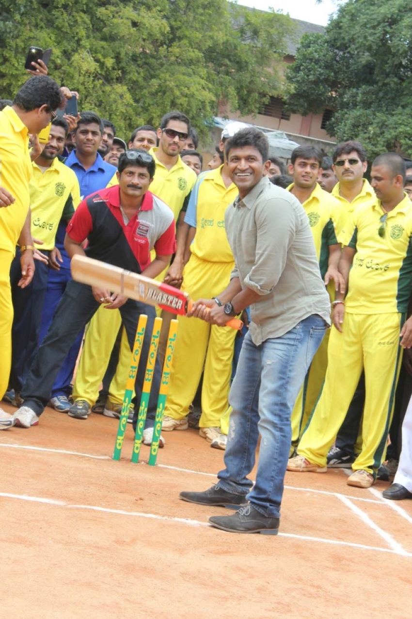 Dr Vishnuvardhan Cricket Cup 2014 Tournament Inaugaration Photos