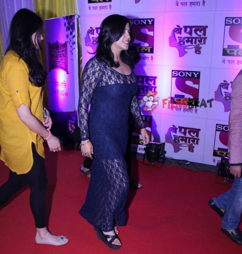 Raveena Tandon at Sony Pal's  Yeh Pal Hamara Hai red carpet Photos
