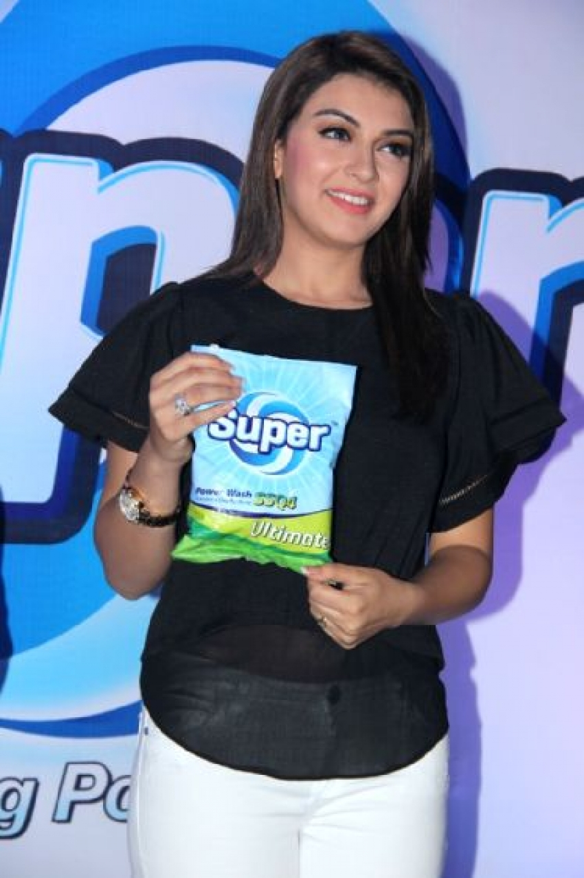Hansika Launches Super Washing Detergent Powder Photos