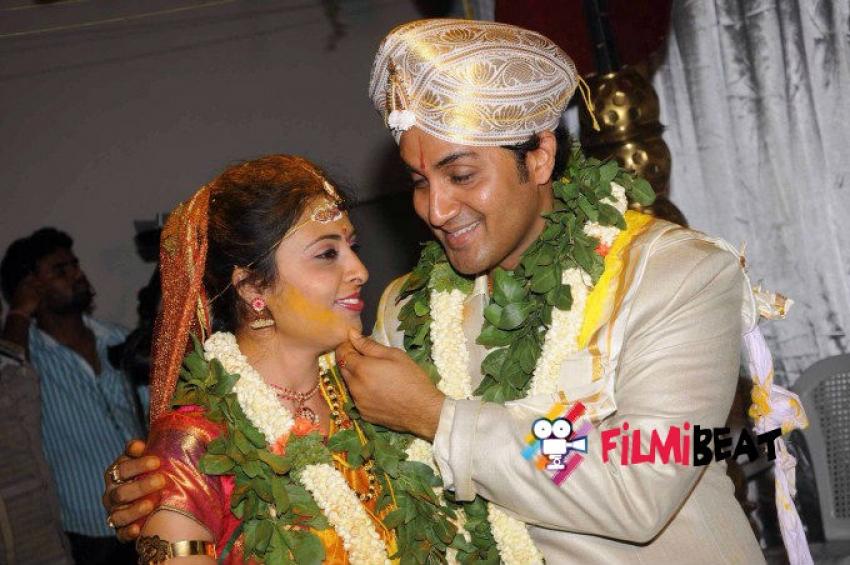 Harish Raj and Shruthi Lokesh Marriage Photos