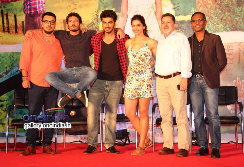 Finding Fanny Song Launch Photos
