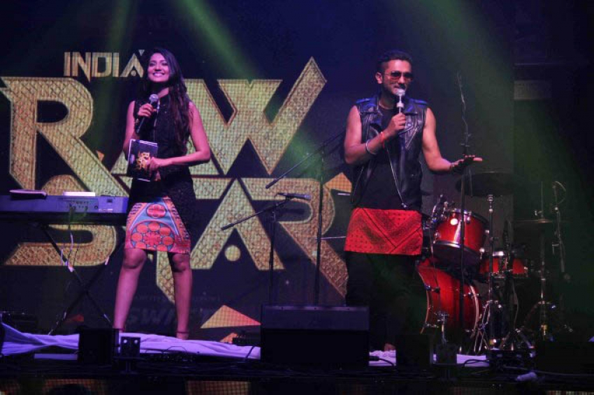 Honey Singh unveil top 10 contestants for India's Raw Star Photos