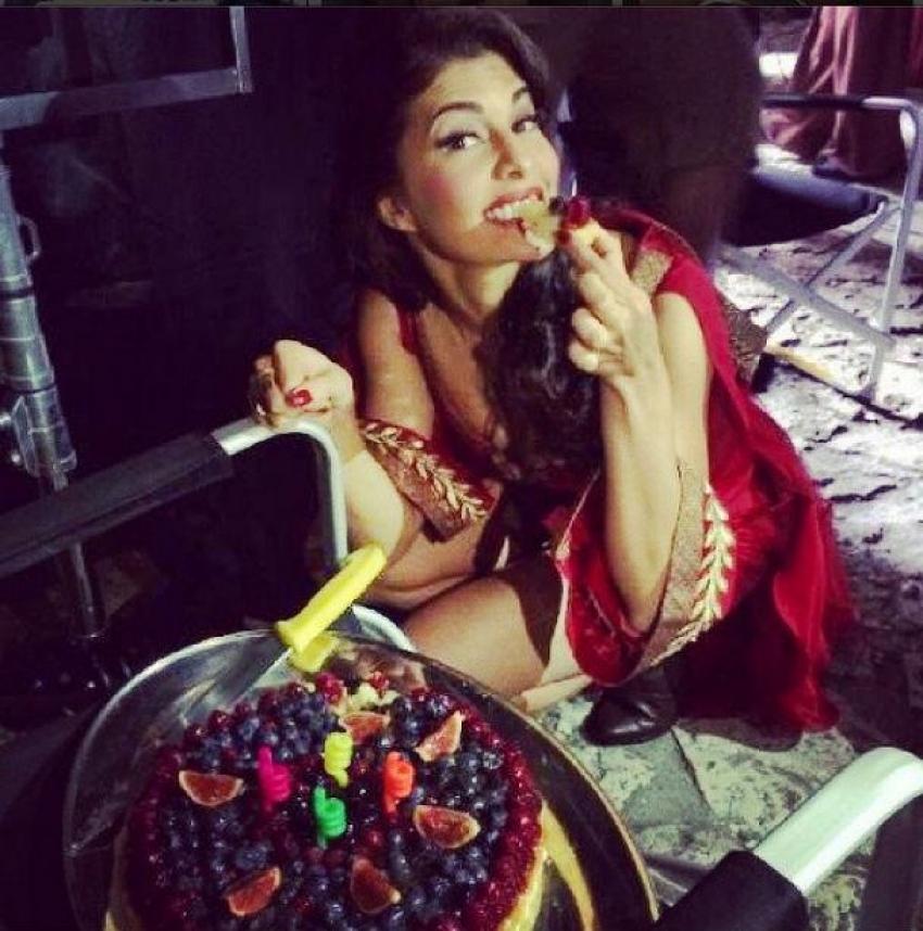 Jacqueline Fernandez Celebrates her Birthday with Bangistan Team Photos